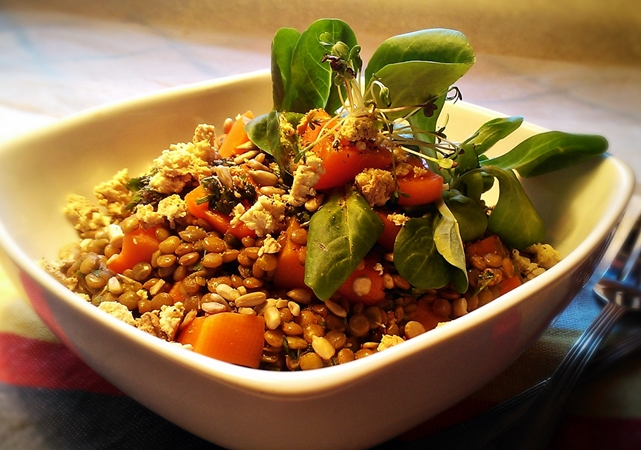 Insalata di lenticchie 2