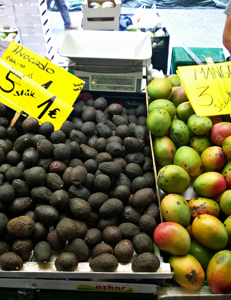 Berlin awokado i mango