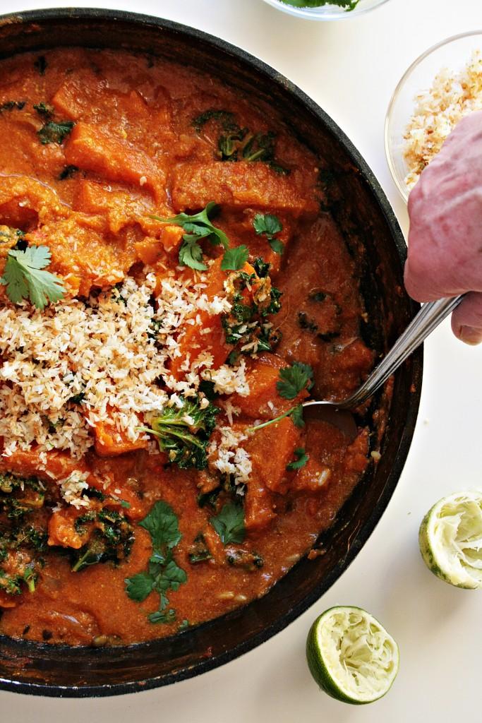 curry con zucca 5