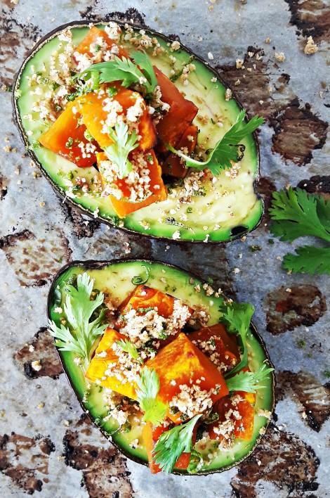 24. Oven baked avocado