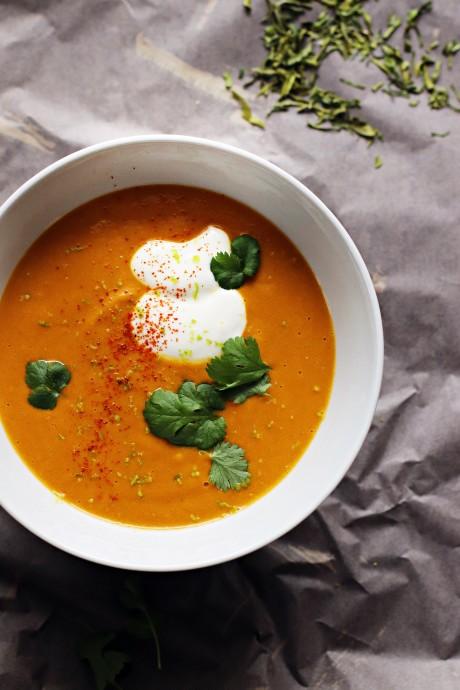Zuppetta di carote